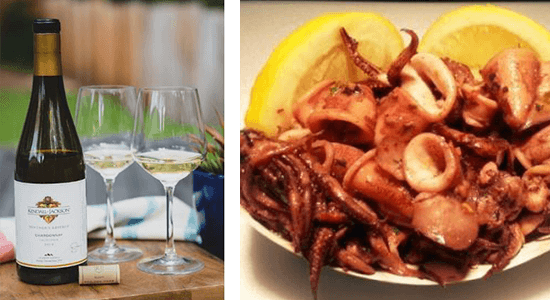 Chardonnay Wine & Calamari Pairing | The Town Dock