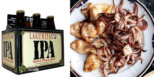 Lagunitas Brewing Co.'s India Pale Ale & Calamari Pairing | The Town Dock