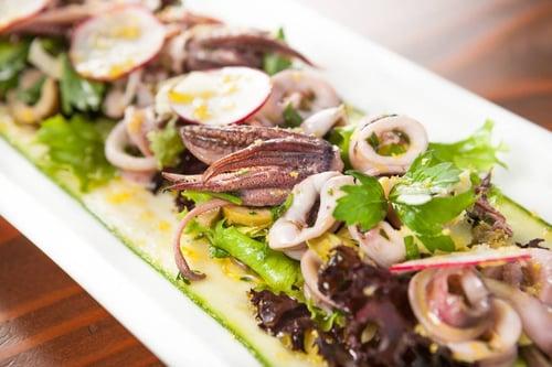 Spring Calamari Salad