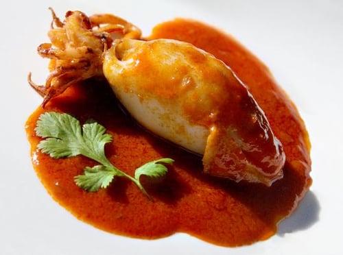 Stuffed Calamari In Gravy Recipe | The Town Dock
