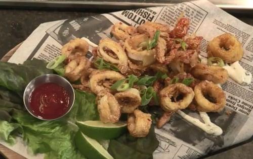 Thai Peanut Calamari