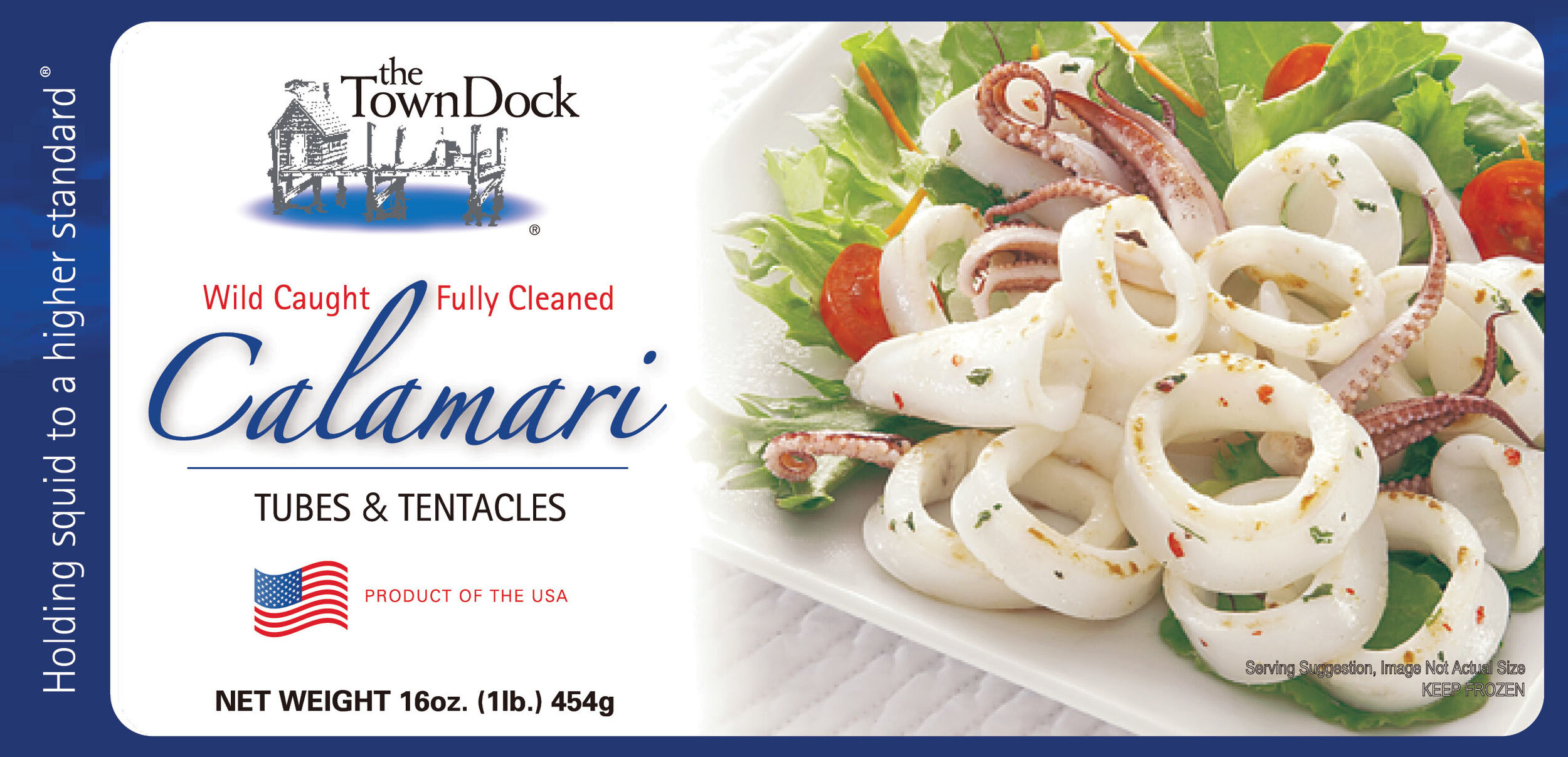 RETAIL CALAMARI FOR GROCERY/FOOD STORES