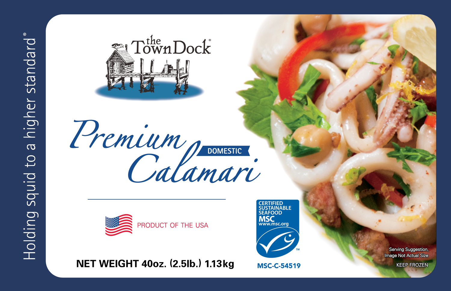 Premium Domestic Calamari