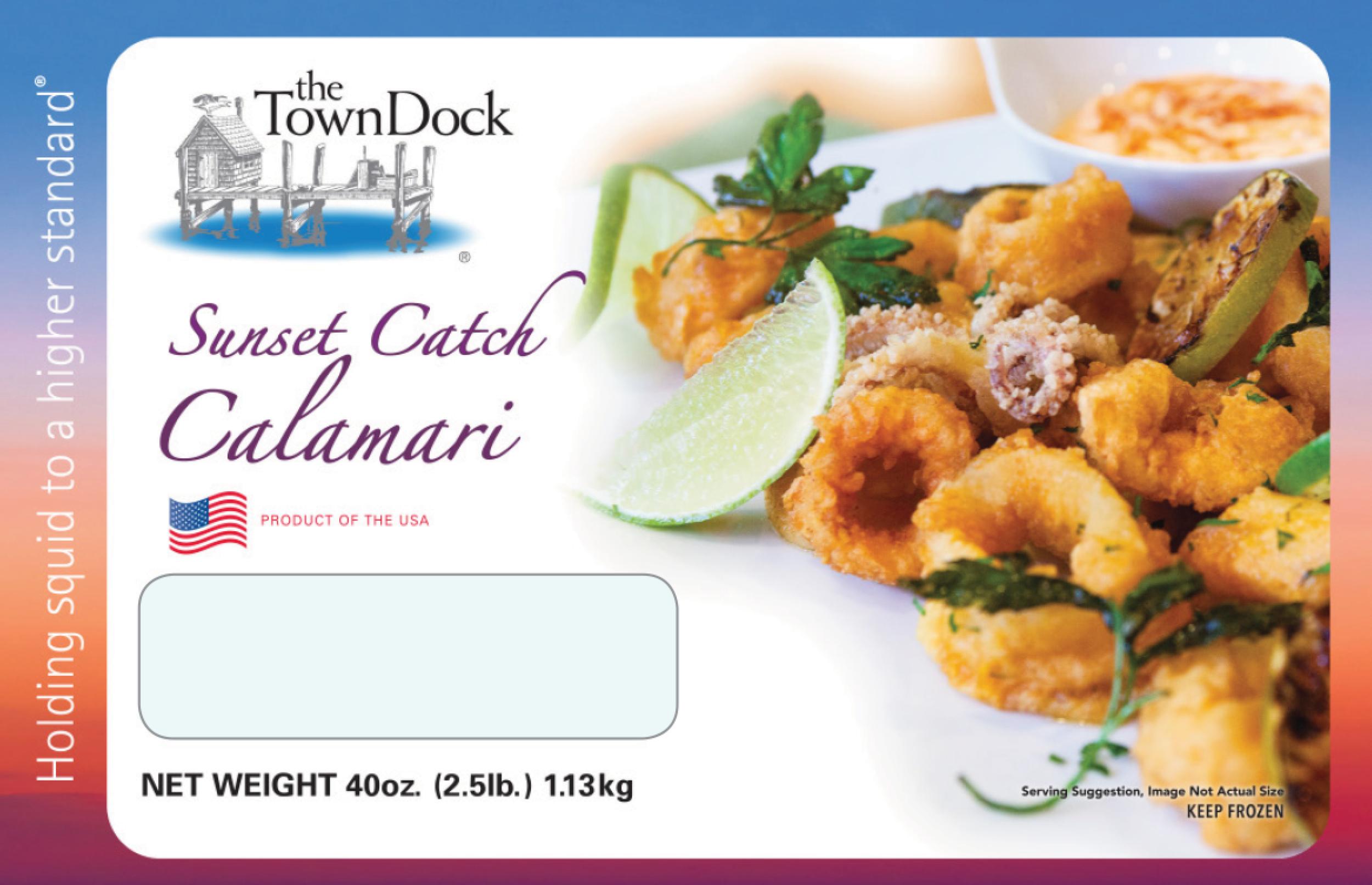 Sunset Catch Calamari